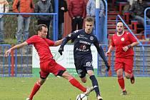 Fotbalové utkání Třebíč vs. Slovácko – 31. 10. 2012, Třebíč