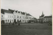 Fotografie k seriálu Proměny zlínského náměstí.