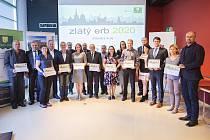 Z oceňování nejlepších webových stránek Zlínského kraje – soutěže Zlatý erb