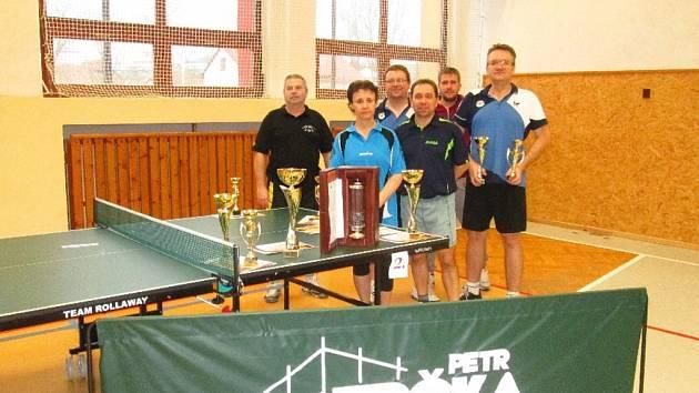 stolní tenis Turnaj ve Štítné nad Vláří 2016