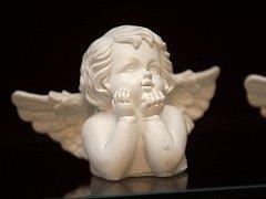 Výstava Angelus Domesti anděl domácí na zámku ve Vizovicích.