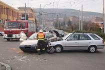 Nehody v centru Zlína