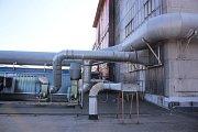 Den otevřených dveří v Continental Barum - Vzduchovod. Slouží k odvedení vzdušniny kontaminované etanolem do teplárny ke spálení. Jen loni tak 658 tun lihu z Continetal Barum vytápělo Otrokovice a okolí.