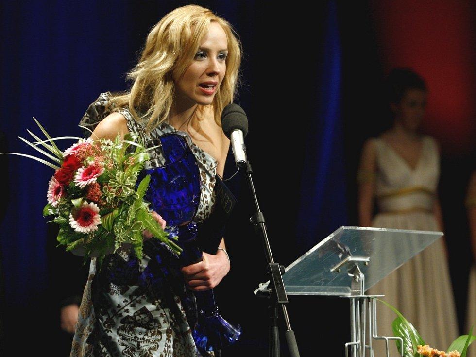Za roli Maryši si zlínská herečka Petra Hřebíčková odnesla Cenu Thálie.