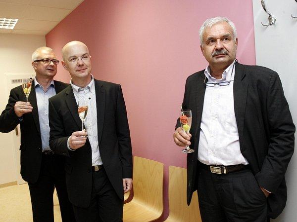 Otevření gastroenterologického oddělení vnemocnici Atlas ve Zlíně.