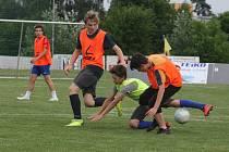 Na hřišti ve Spytihněvi se od pátku koná čtvrtý ročník tradičního fotbalového maratonu.