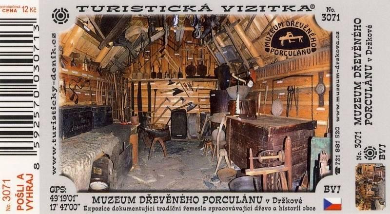 Turistická vizitka Držková. I takový skvost můžete v obci získat.