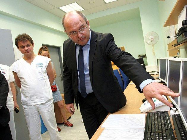 Slavnostní otevření nového lineárního urychlovače v Krajské nemocnici T. Baťi ve Zlíně.