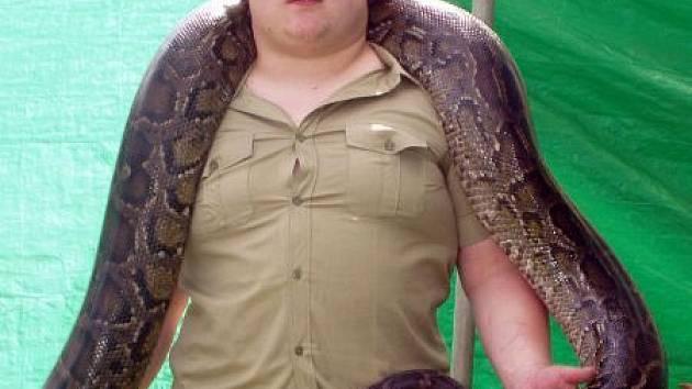 Lovec krokodýlů přiveze do Slavičína exotická zvířata