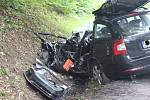 Vážná nehoda u Pozlovic