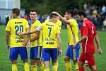 Fotbalisté Zlína v rámci 3. kola MOL Cupu na hřišti divizního Slavičína jasně zvítězili.