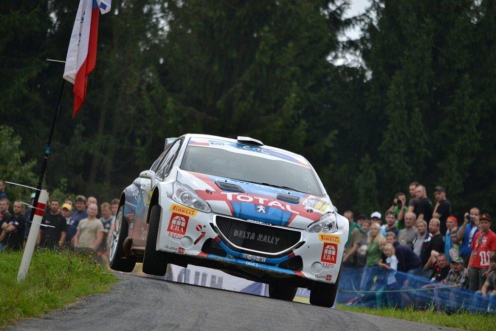 Barum Czech Rally Zlín - RZ 5 - Semetín 1