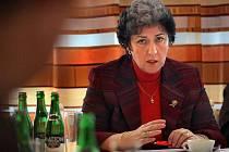 Alena Gajdůšková, senátorka za sociální demokracii, v pondělí 17. ledna na tiskové konferenci ve Zlíně před novináři mimo jiné kritizovala připravovanou vládní změnu, která by měla rozdělovat univerzity na výzkumné a vzdělávací.