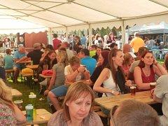 V sobotu se v Napajedlích konal první Burger Fest.