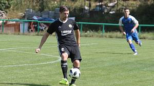 Luhačovický obránce Jakub Suchý se v zápase s Provodovem dočkal prvního hattricku kariéry.