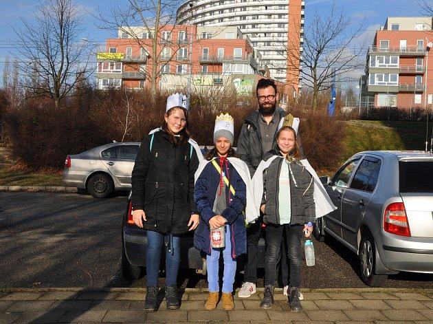 I když koledníci vyrazili na Zlínsku do ulic 2. ledna, největší počet skupinek se ve Zlíně vydalo koledovat až na tříkrálovou sobotu.