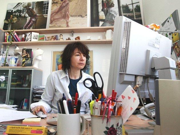 Módní návrhářka Šárka Šišková odpovídá on-line