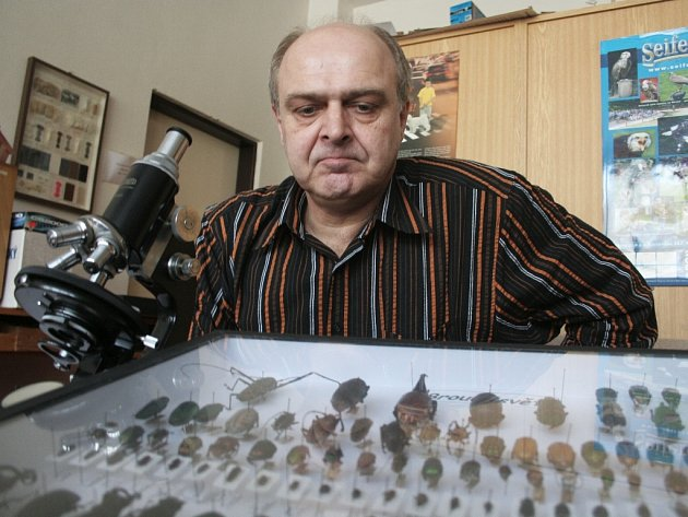 Entomolog Vladimír Bělín z Trnavy