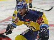 Hokej PSG Berani Zlín - Piráti Chomutov.  Jiří Ondráček