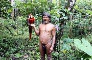 Festival NEZNÁMÁ ZEMĚ 2018. Výstava fotografií Jindřicha H. Böhna WAORAMI v galerii Alternativa ve Zlíně. Mizející svět amazonských domorodců.