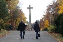 Lesní hřbitov ve Zlíně.