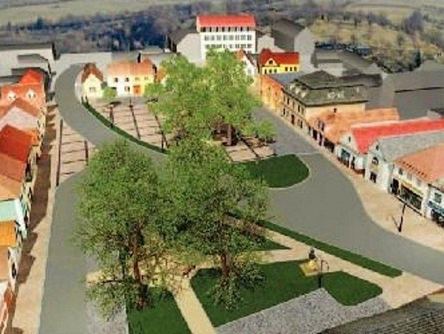 Vizualizace náměstí