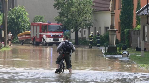 Povodeň Zlín.