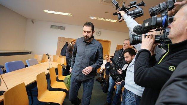 Roman Čechmánek u soudu ve Zlíně