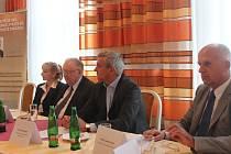 Tisková konference Strany práv občanů k zahájení volební kampaně