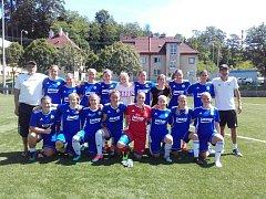 Foto divizních fotbalistek fastavu Zlín