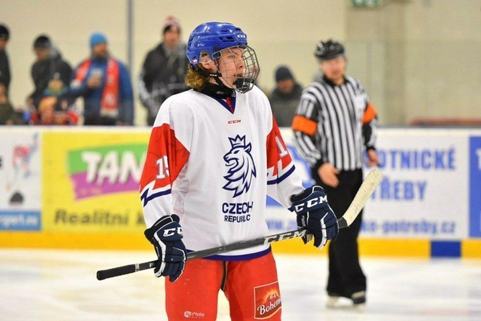 Lukáš Chludil odehrál 10 zápasů v mládežnických kategoriích české hokejové reprezentace.