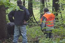 Policie hledá tělo