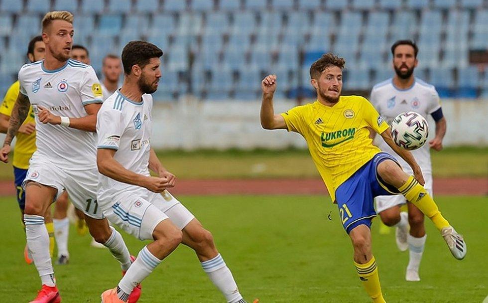Fotbalisté Zlína se opět po roce utkají se Slovanem Bratislava.