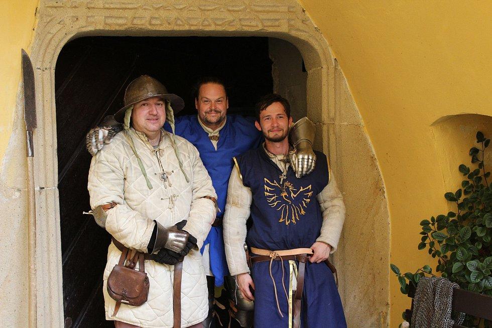 Noční prohlídka hradu Malenovice, 17. července 2021