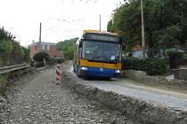Kvůli komplikacím uzavírají Slovenskou ulici. Linka 3 do konce srpna mění trasu