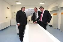 Slavnostní otevření pracoviště PET/CT v krajské nemocnici T. Baťi ve Zlíně.