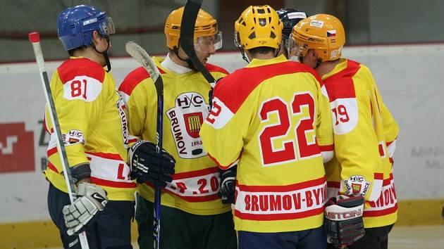 Hokejisté Brumova-Bylnice. Ilustrační foto