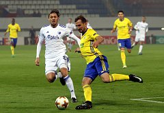 fotbal FC FASTAV Zlín - FC KodaňUroš Matič a Petr Jiráček