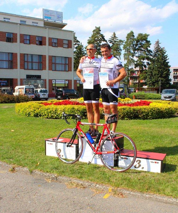 Cyklojízda v sobotu 9. září 2017 z Dubnice nad Váhom na Slovensku do Otrokovic.