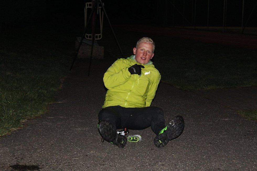 Tomáš Štverák z Běhu kolem okresu Vsetín 2021