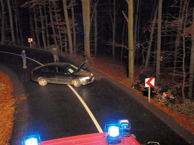 Dopravní nehoda na Rackové ve Zlíně