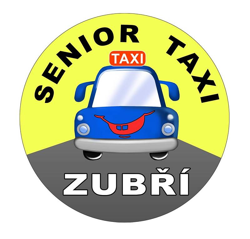 Logo služby Senior taxi v Zubří.