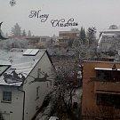 První sníh na Zlínsku očima čtenářů Deníku. Zlín - Nivy