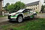 Barum Rally Zlín. Dopolední kvalifikační jízda a shakedown.