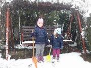 První sníh na Zlínsku očima čtenářů Deníku. Březová