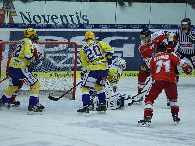 PSG Zlín - HC Olomouc. Ilustrační foto