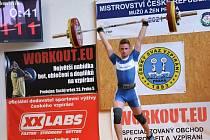 Zlínský vzpěrač Dominik Šesták je mistr ČR mužů pro rok 2021 v hmotnostní kategorii do 67 kg za výkon 196 kg.