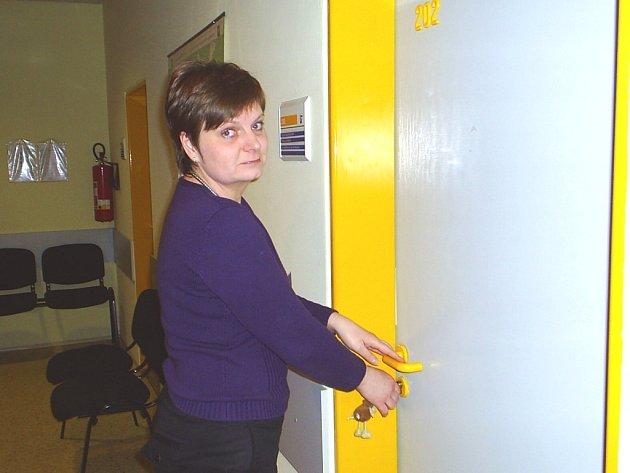 Zprostředkovatelka práce Dagmar Návrátilová.