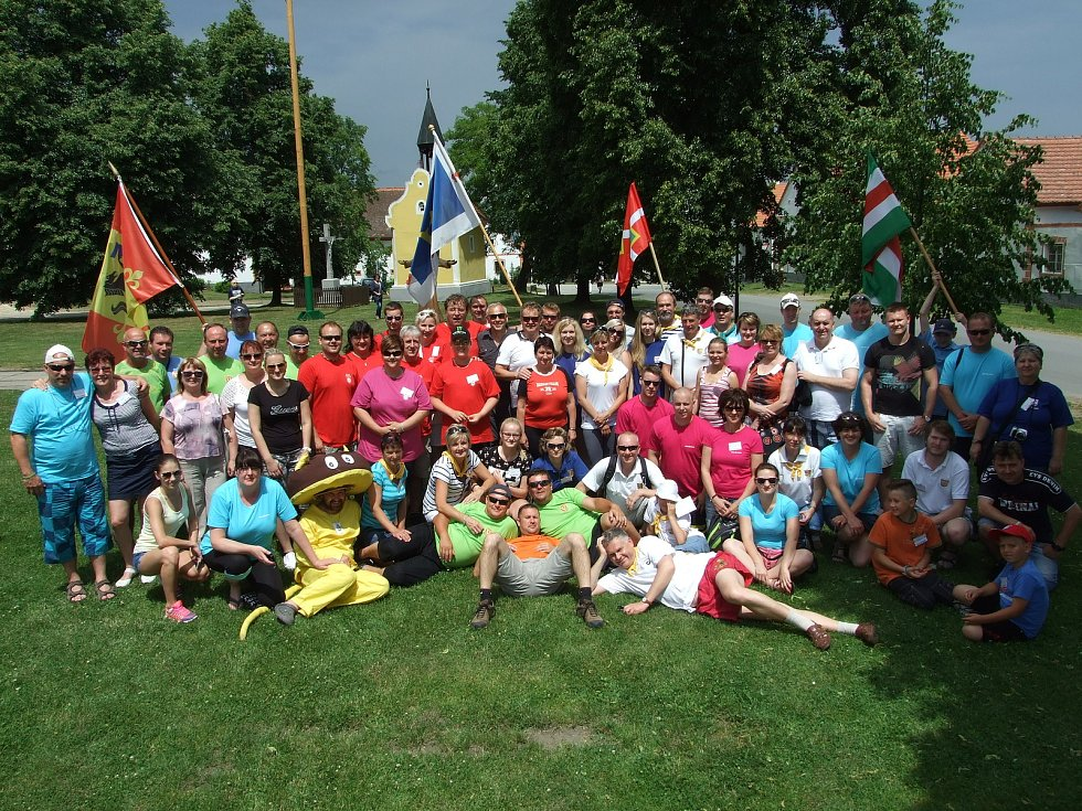 Život v obci Žlutava. Setkání barevných obcí