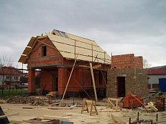 Jak se stavba měnila – listopad 2008